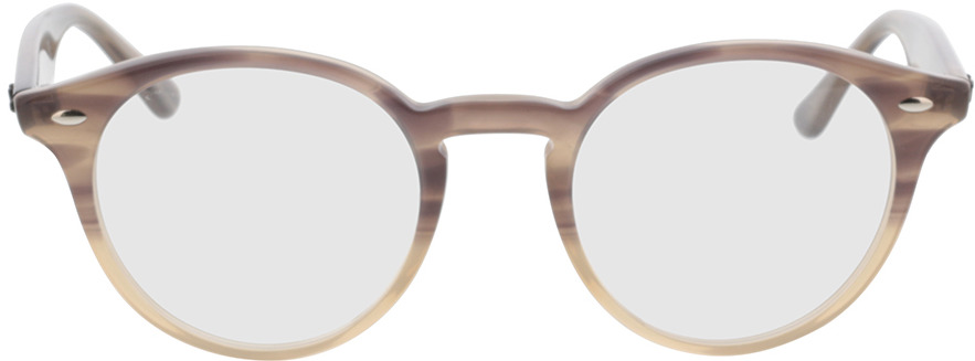 Picture of glasses model Ray-Ban RX2180V 8107 49-21 in angle 0