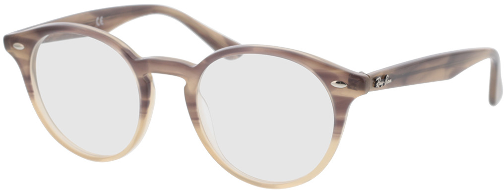 Picture of glasses model Ray-Ban RX2180V 8107 49-21 in angle 330