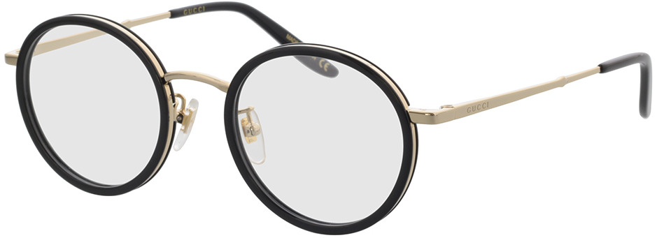 Picture of glasses model Gucci GG0679OA-001 48-21 in angle 330