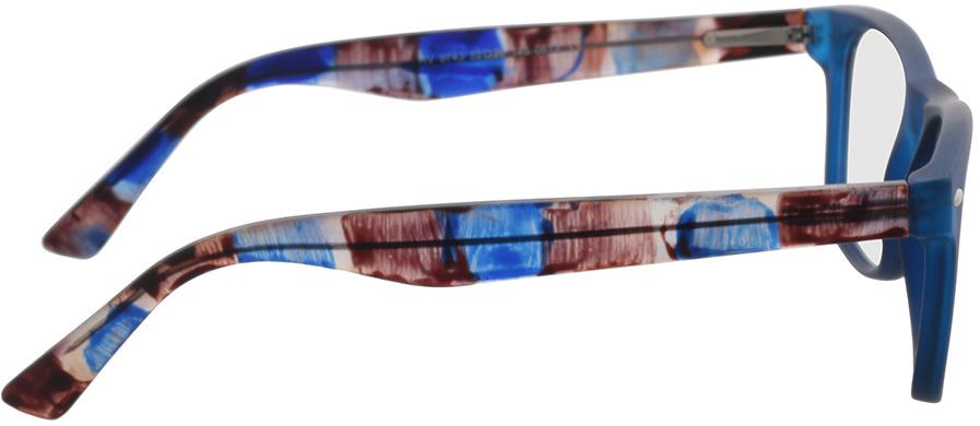 Picture of glasses model Salemi-dark blue in angle 90