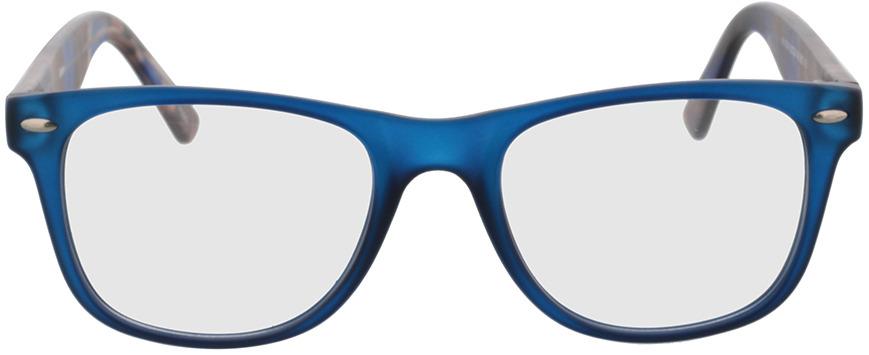 Picture of glasses model Salemi-dark blue in angle 0