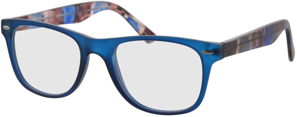 Picture of glasses model Salemi-dark blue in angle 330