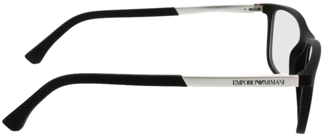 Picture of glasses model Emporio Armani EA3069 5063 55-17 in angle 90