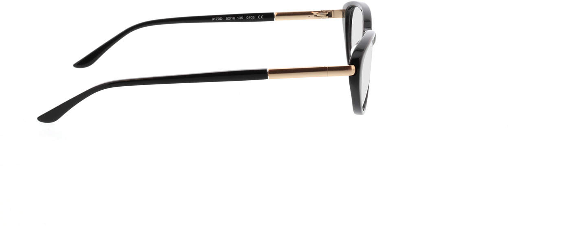 Picture of glasses model Gloria-schwarz in angle 90