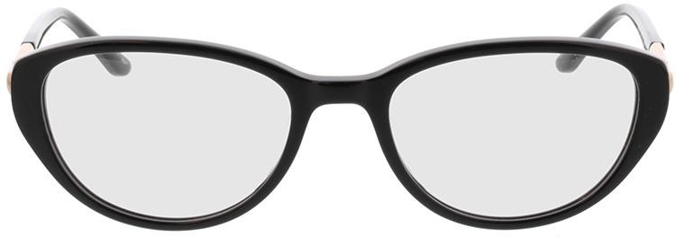 Picture of glasses model Gloria-schwarz in angle 0