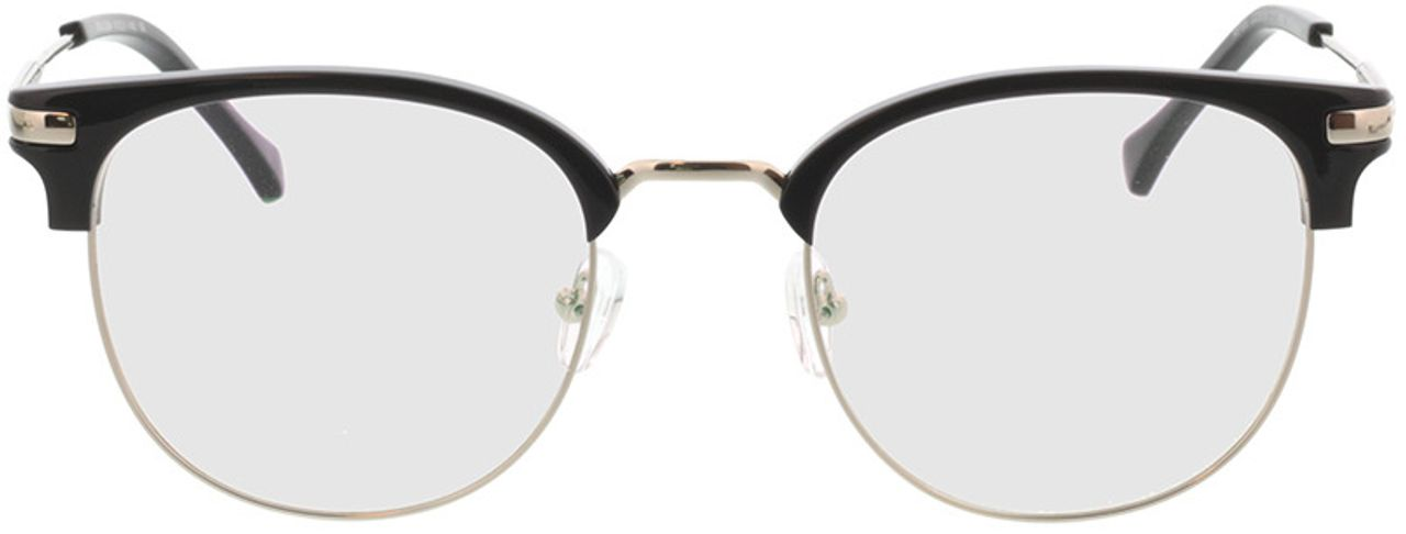 Picture of glasses model Wimbledon-schwarz/silber in angle 0