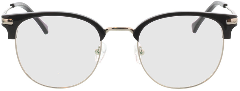 Picture of glasses model Wimbledon zwart/zilver in angle 0