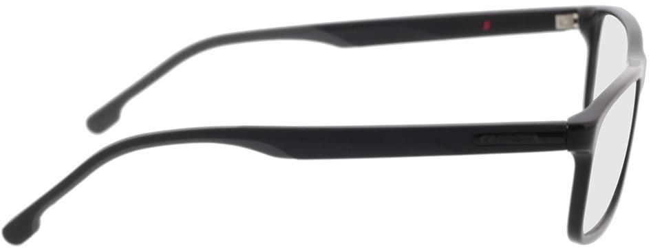 Picture of glasses model Carrera CARRERA 8865 807 57-16 in angle 90