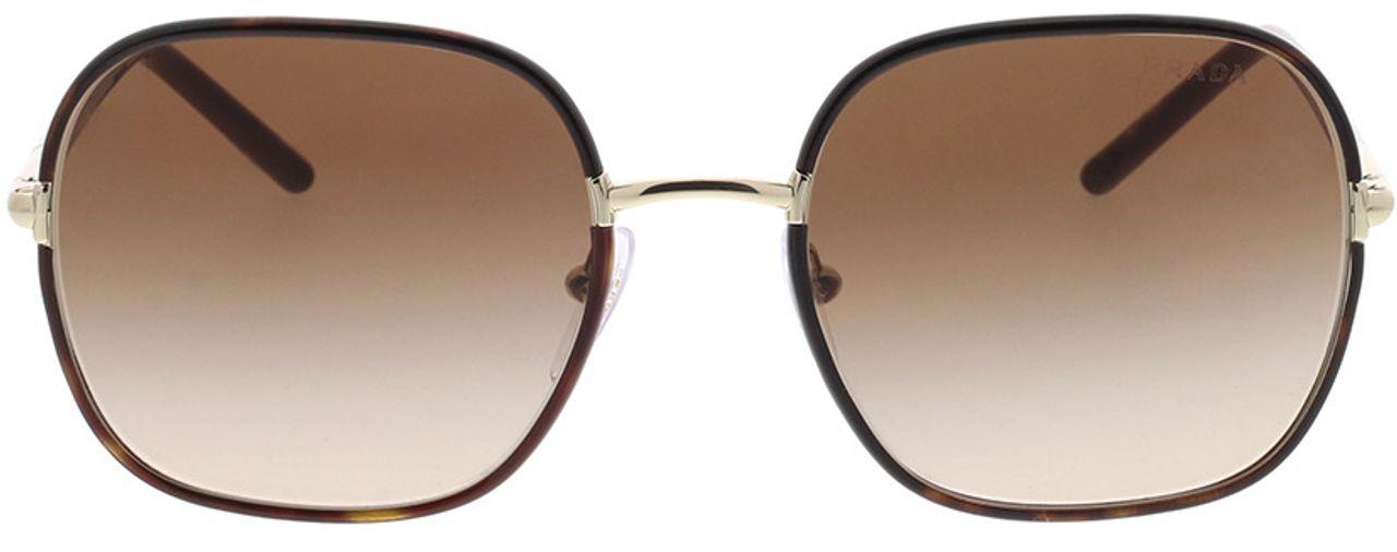 Picture of glasses model Prada PR 67XS 2AU6S1 55-19 in angle 0