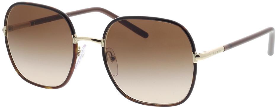 Picture of glasses model Prada PR 67XS 2AU6S1 55-19 in angle 330