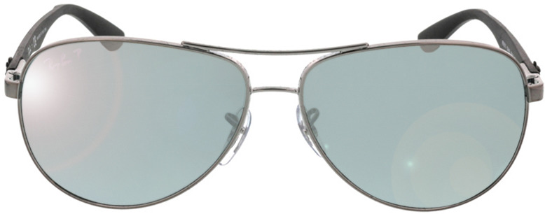 Picture of glasses model Ray-Ban Carbon Fibre RB8313 004/K6 58 13 in angle 0