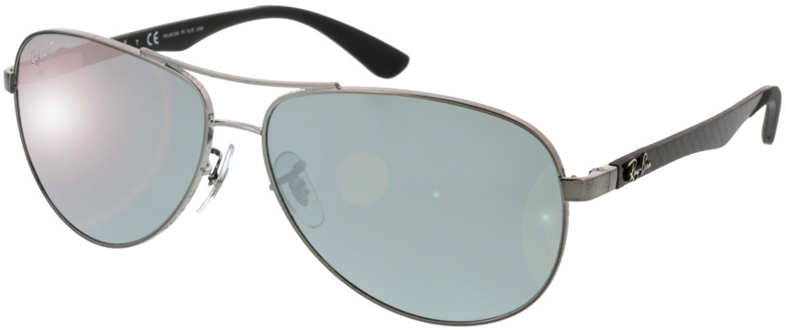 Picture of glasses model Ray-Ban Carbon Fibre RB8313 004/K6 58 13