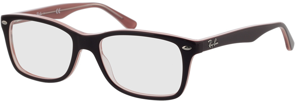 Picture of glasses model Ray-Ban RX5228 8120 53-17 in angle 330