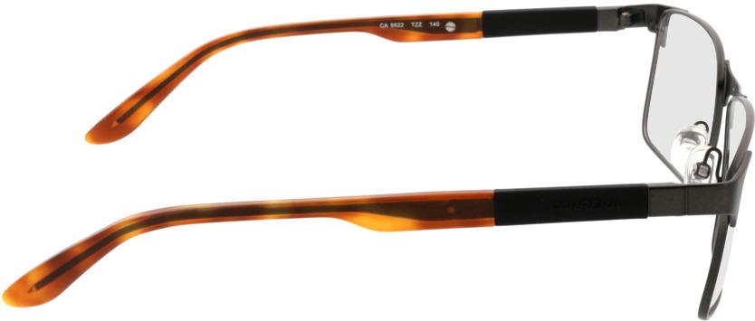 Picture of glasses model Carrera CA8822 TZZ 54-17 in angle 90