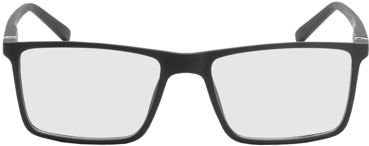 Picture of glasses model Santander-schwarz in angle 0