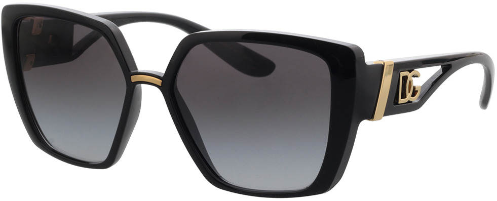 Picture of glasses model Dolce&Gabbana DG6156 501/8G 56-16 in angle 330