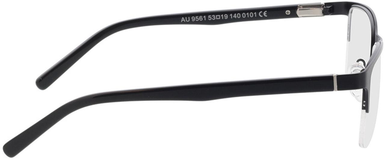Picture of glasses model Alamo-matt schwarz in angle 90