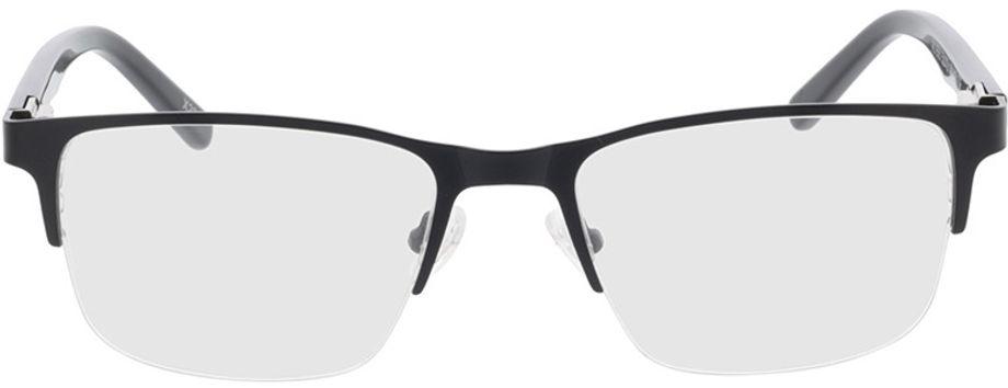 Picture of glasses model Alamo-matt schwarz in angle 0