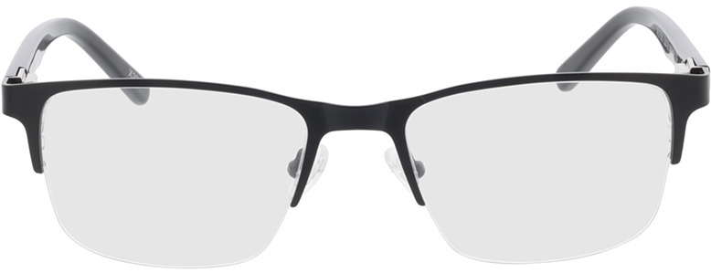 Picture of glasses model Alamo mat zwart in angle 0