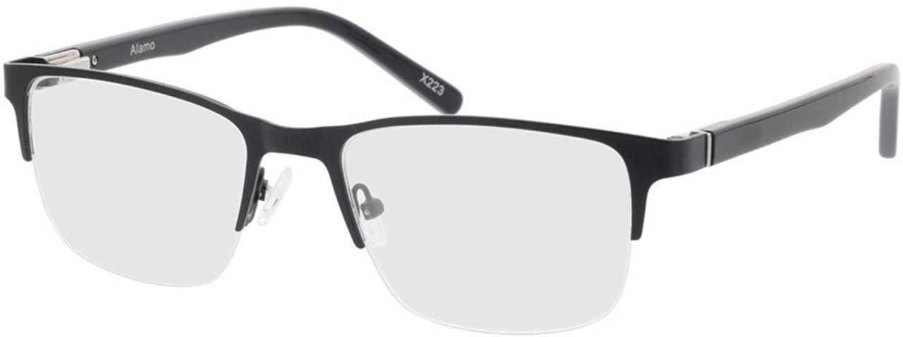 Picture of glasses model Alamo-matt schwarz in angle 330