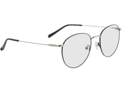 Brille Louro-schwarz/silber