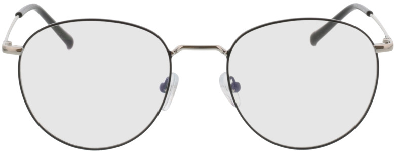Picture of glasses model Louro zwart/zilver in angle 0