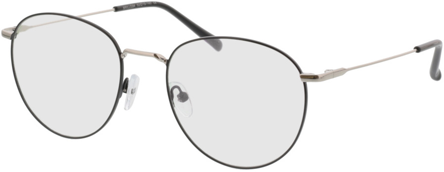 Picture of glasses model Louro zwart/zilver in angle 330