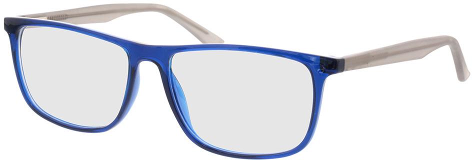 Picture of glasses model Valor-dunkelblau/grau in angle 330