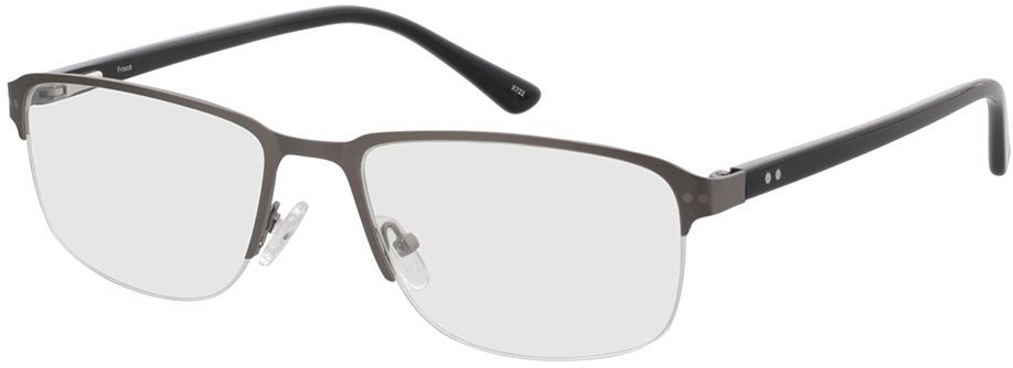 Picture of glasses model Frisco-mate antracite in angle 330