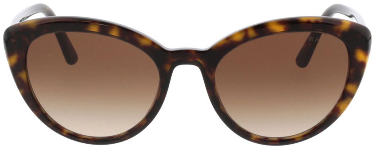 Picture of glasses model Prada PR 02VS 2AU6S1 54-20 in angle 0