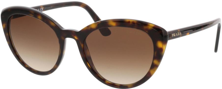 Picture of glasses model Prada PR 02VS 2AU6S1 54-20 in angle 330