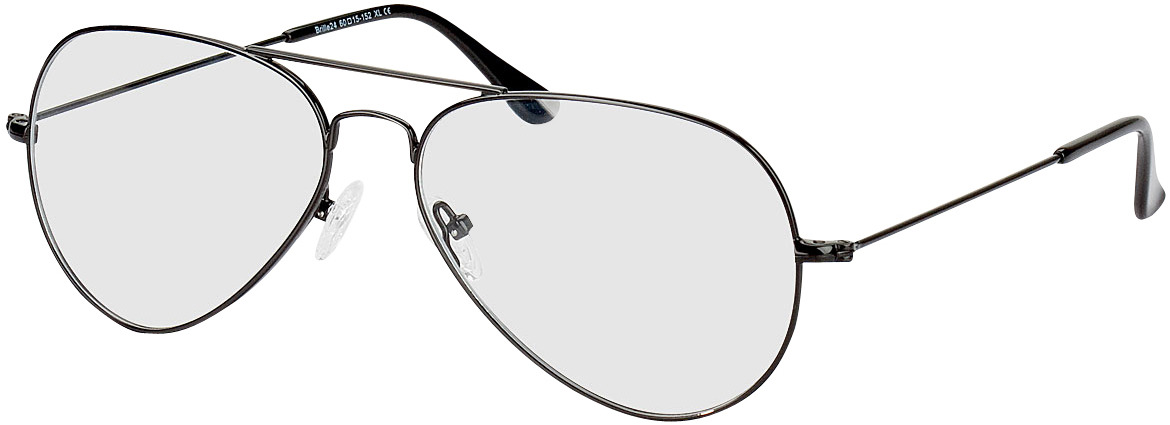 Picture of glasses model Miramar-schwarz in angle 330