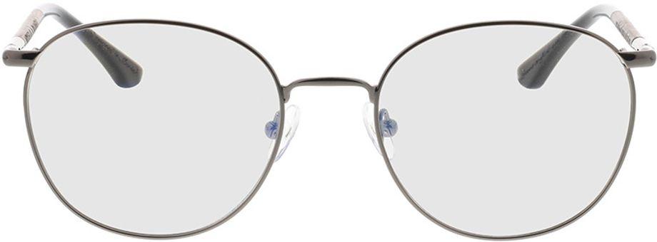 Picture of glasses model Wood Fellas Optical Braunfels walnut/gun shiny 53-19 in angle 0