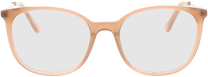 Picture of glasses model Comma, 70064 66 nude/Goud 49-17 in angle 0