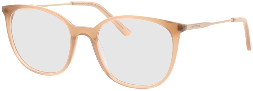Picture of glasses model Comma, 70064 66 nude/Goud 49-17 in angle 330