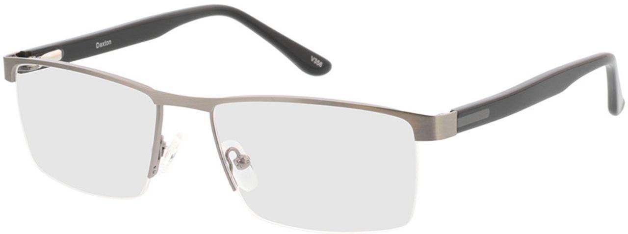 Picture of glasses model Daxton-anthrazit/matt schwarz in angle 330