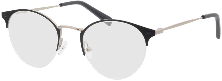 Picture of glasses model Canyon-matt schwarz in angle 330
