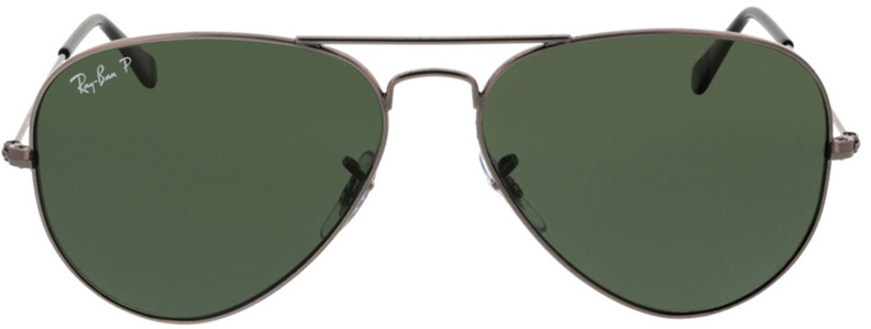 Picture of glasses model Ray-Ban Aviator RB3025 004/58 58-14 in angle 0