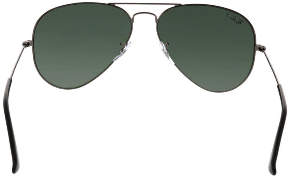 Picture of glasses model Ray-Ban Aviator RB3025 004/58 58-14 in angle 180