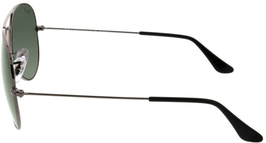 Picture of glasses model Ray-Ban Aviator RB3025 004/58 58-14 in angle 270