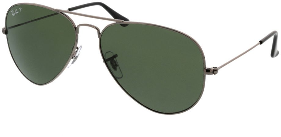 Picture of glasses model Ray-Ban Aviator RB3025 004/58 58-14 in angle 330