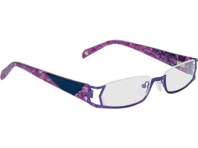 Brille Dinan-lila/blau meliert