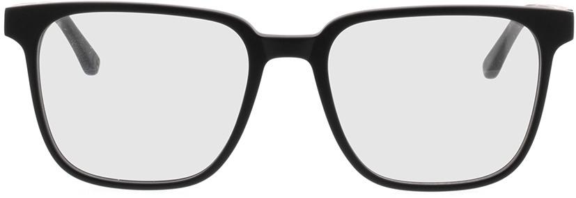 Picture of glasses model TAKE A SHOT Lenus Midnight Zwart RX: Zwartes Eichenholz 54-19 in angle 0
