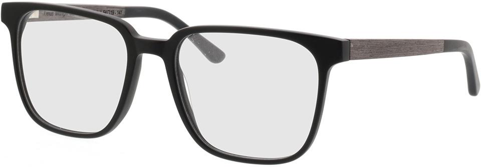 Picture of glasses model TAKE A SHOT Lenus Midnight Zwart RX: Zwartes Eichenholz 54-19 in angle 330