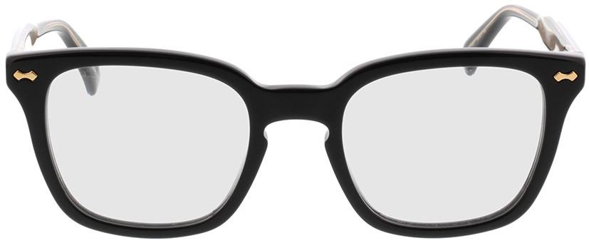 Picture of glasses model Gucci GG0184O-001 50-21 in angle 0