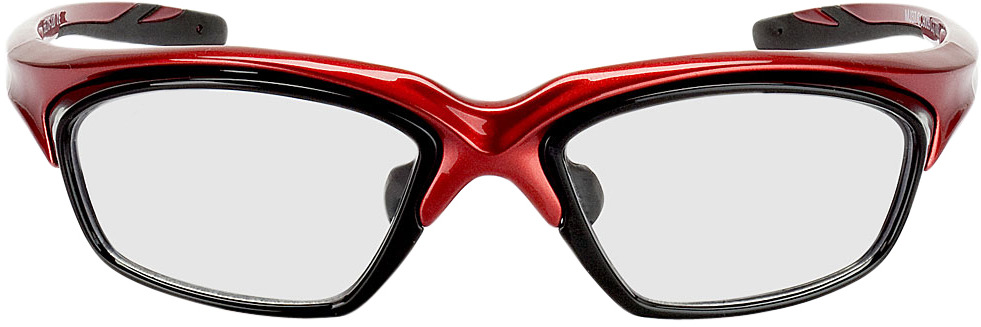Picture of glasses model Explorer rouge/noir in angle 0