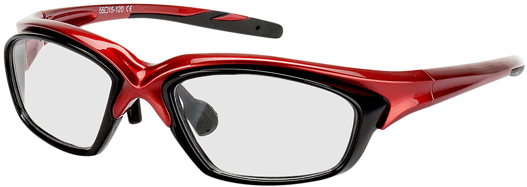 Picture of glasses model Explorer rouge/noir in angle 330