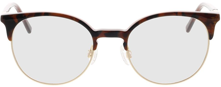 Picture of glasses model Comma, 70090 61 brown 49-19 in angle 0