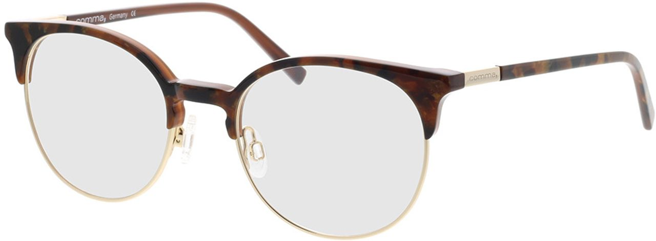 Picture of glasses model Comma, 70090 61 brown 49-19 in angle 330