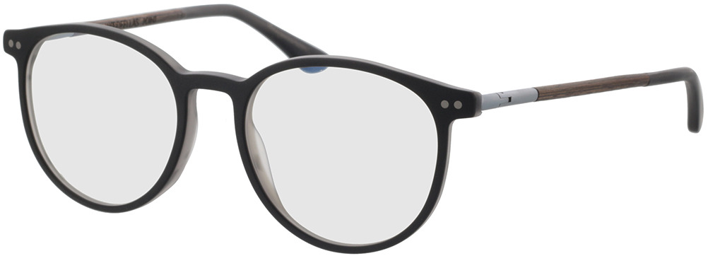 Picture of glasses model Wood Fellas Optical Point curled/grey 50-18 in angle 330